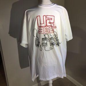 Other - Mens U2 Concert 2009 T shirt White Size XL NWOT
